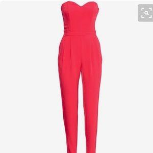 H&M Sweetheart Jumpsuit